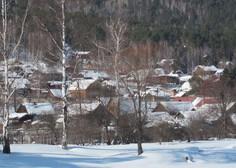 Sibirijo zajele sibirske temperature - minus 49 stopinj Celzija