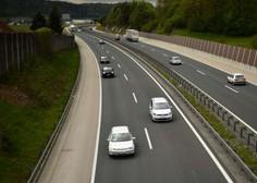 Na slovenskih avtocestah predvsem zaradi osebnih vozil občuten upad prometa