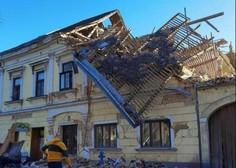 Posledice hudega potresa na Hrvaškem (foto in video)