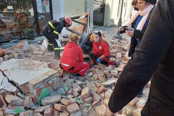 V potresu na Hrvaškem vse več mrtvih