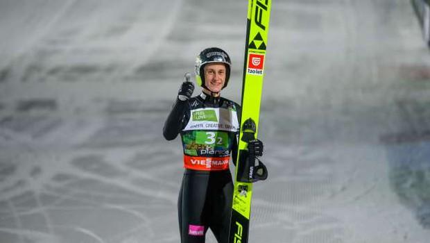 Peter Prevc tretji najboljši v zadnjem desetletju (foto: Nebojša Tejić/STA)