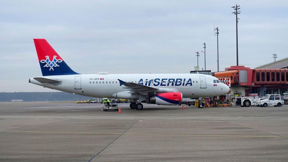 Srbska država delež v Air Serbia povečala na preko 80 odstotkov (foto: Profimedia)