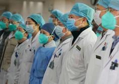 Kitajska pred letom dni WHO obvestila o izbruhu skrivnostne pljučnice