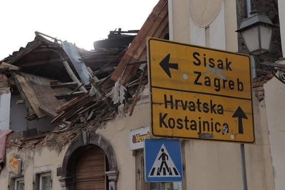 Za zdaj še ne kaže, da se bo potresna dejavnost na Hrvaškem kmalu umirila