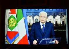 Italijanski predsednik v novoletni poslanici pohvalil sobivanje Gorice in Nove Gorice