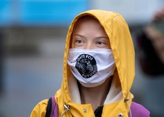 Podnebna aktivistka Greta Thunberg dopolnila 18 let