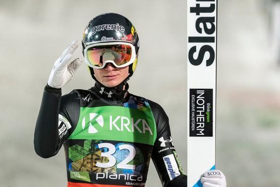 Anže Lanišek po 2. mestu v Innsbrucku: Brez dvoma je za menoj super dan