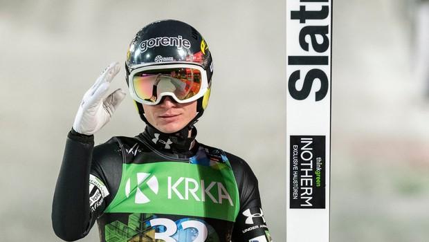 Anže Lanišek po 2. mestu v Innsbrucku: Brez dvoma je za menoj super dan (foto: profimedia)
