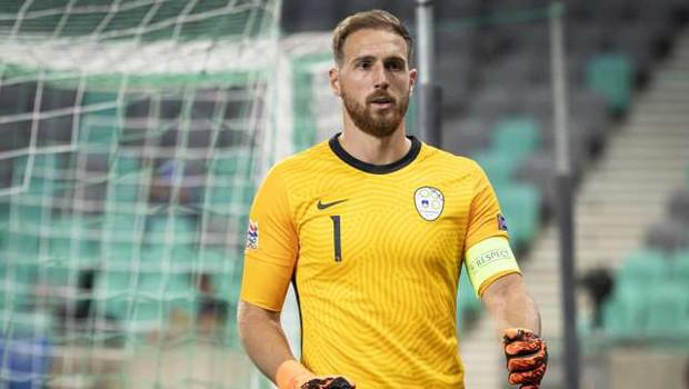 Oblak najboljši nogometaš leta 2020 po izboru Ekipe SN (foto: Jure Makovec/STA)