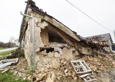 Petrinjo zjutraj stresel nov močnejši potresni sunek, čutili so ga tudi v Zagrebu