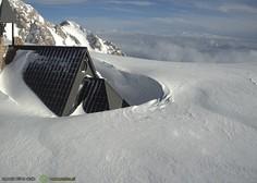 Toliko snega v začetku januarja v slovenskih gorah ni bilo več desetletij