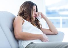 »Moj mož želi najino še nerojeno hčerko poimenovati po njegovi preminuli bivši ženi.«