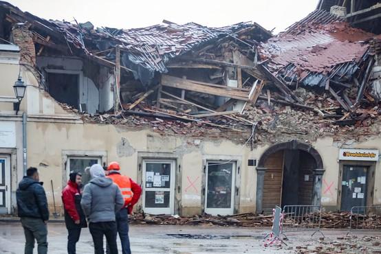 UNICEF na Hrvaško dostavil 13,5 ton zaščitnih ponjav za pomoč prizadetim v potresu
