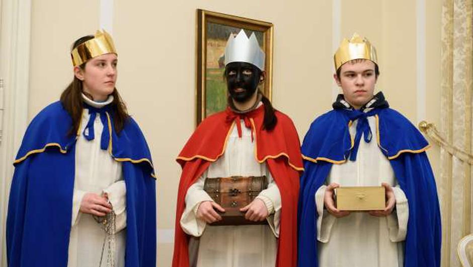Katoličani in evangeličani obeležujejo praznik svetih treh kraljev (foto: Nebojša Tejić/STA)