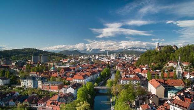 Lonely Planet Ljubljano uvrstil med osem najbolj trajnostnih mest na svetu (foto: Anže Malovrh/STA)