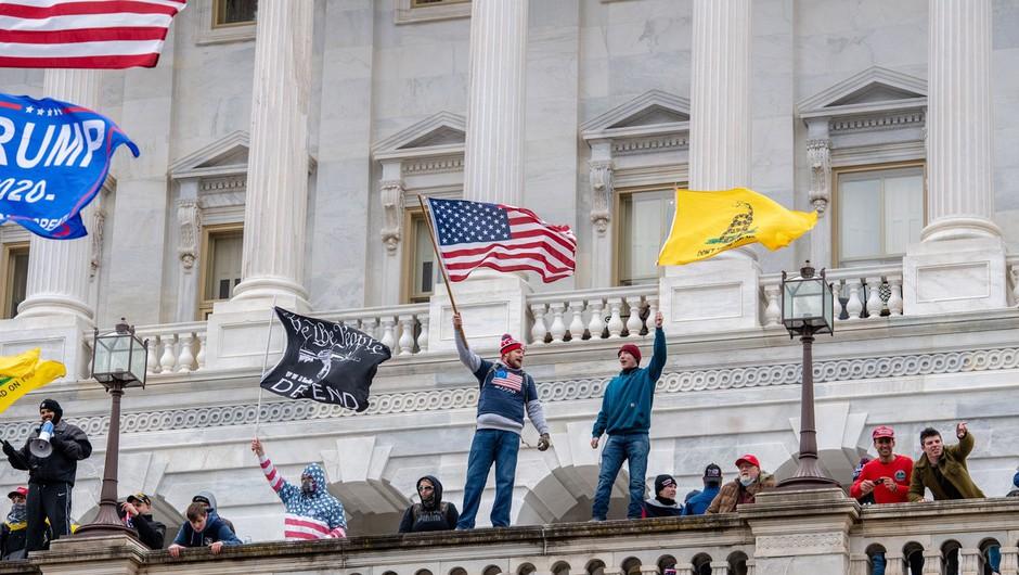 Svetovni mediji o dogajanju v ZDA: Sramota, kaos, udar norosti, upadanje vrednot, nasilje brez primee (foto: Profimedia)