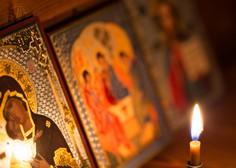 Pravoslavni kristjani danes praznujejo božič, bogoslužij v cerkvah zaradi epidemije ni