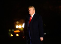 Po vdoru v Kapitol se krepijo pozivi k Trumpovi odstavitvi