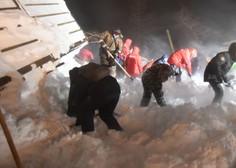 Na sibirskem smučišču v bližini Norilska snežni plaz terjal tri življenja