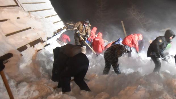 Na sibirskem smučišču v bližini Norilska snežni plaz terjal tri življenja (foto: profimedia)