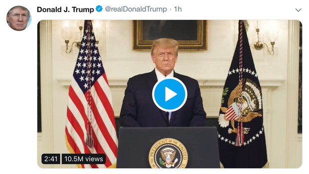 Twitter je Trumpov račun zaradi spodbujanja nasilja dokončno ugasnil (foto: profimedia)