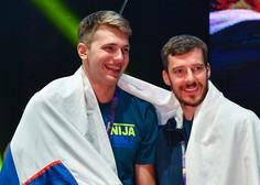 Dončić s trojnim dvojčkom, Dragić zadel sedem trojk, Čančar dve minuti na parketu