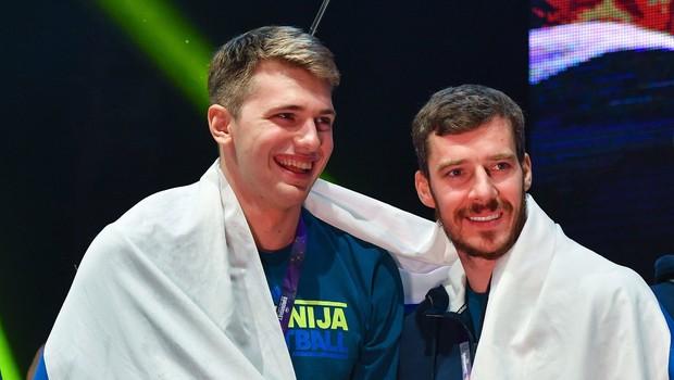 Dončić s trojnim dvojčkom, Dragić zadel sedem trojk, Čančar dve minuti na parketu (foto: profimedia)