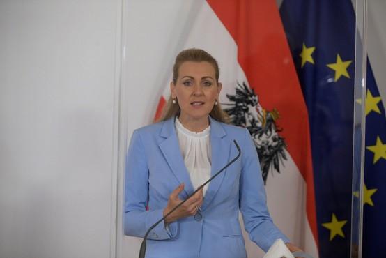 Avstrijska ministrica za delo odstopila zaradi obtožb o plagiatorstvu