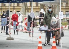 Množično testiranje za prebivalce ljubljanske občine od jutri na Gospodarskem razstavišču