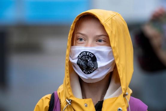 Greta Thunberg upodobljena na švedski poštni znamki