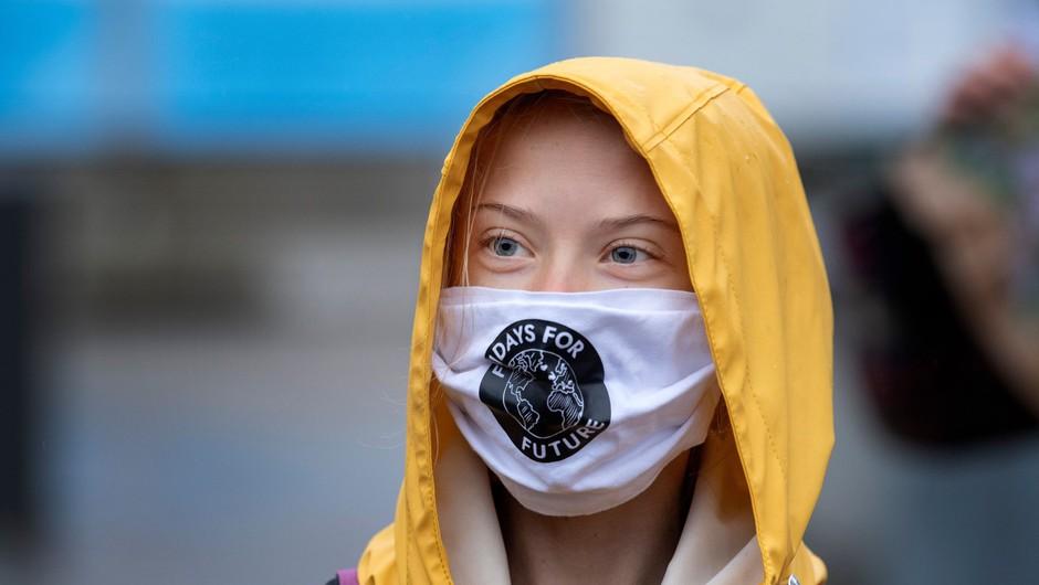 Greta Thunberg upodobljena na švedski poštni znamki (foto: Profimedia)