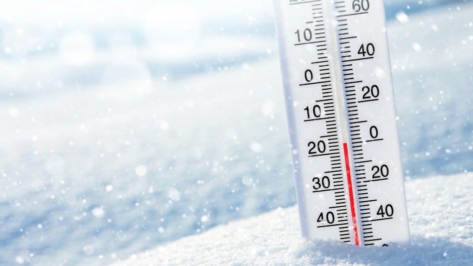 Tako mrzlo jutro je bilo nazadnje februarja 2018, podobno bo tudi v petek (foto: Shutterstock)