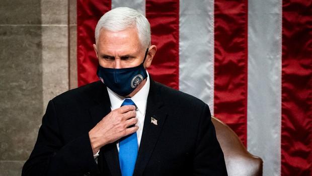Pence je izrazil mnenje, da je 25. amandma predviden za odstavitev predsednika, ki fizično ali duševno ni sposoben opravljati svojega dela in ne kot kazen. (foto: Profimedia)