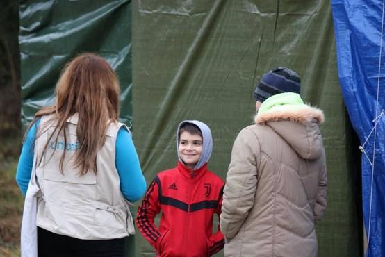 UNICEF-ova pomoč na območju Hrvaške, ki so ga prizadeli potresi, v polnem teku
