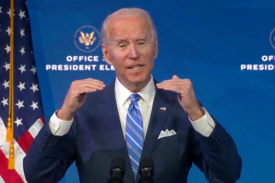 Joe Biden: Vem, da ne bo poceni, a brez ukrepanja bo še dražje