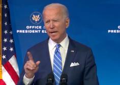Biden predstavil načrt, kako se bo zoperstavil pandemiji novega koronavirusa