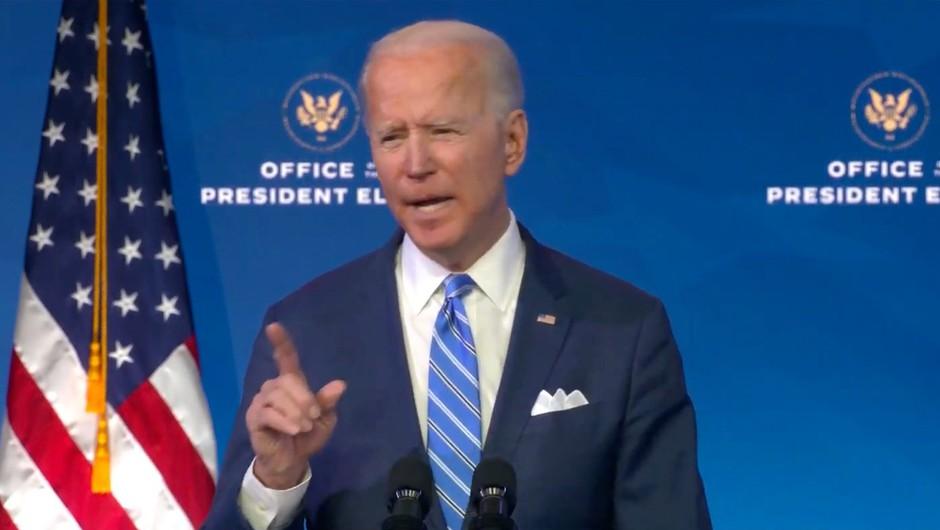 Biden predstavil načrt, kako se bo zoperstavil pandemiji novega koronavirusa (foto: profimedia)