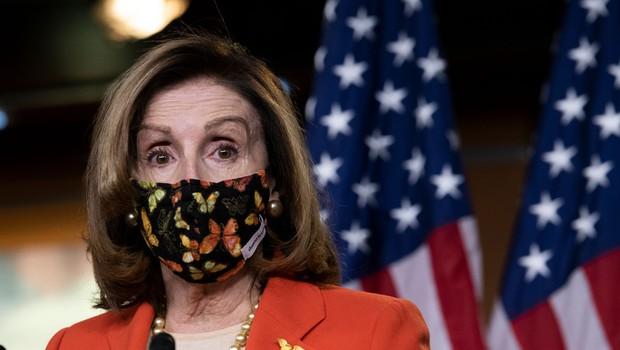 Nancy Pelosi: Člane kongresa, ki so kakorkoli pomagali napadalcem na Kapitol, čaka kazenski pregon (foto: profimedia)