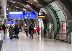 Zaradi nasilnega Slovenca policija v soboto zaprla del frankfurtskega letališča