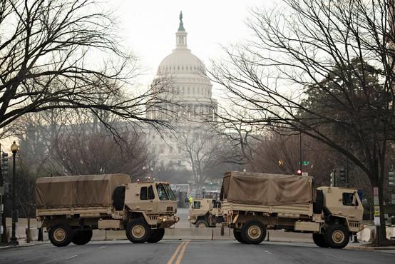 Pred inavguracijo novega ameriškega predsednika poostrena varnost po vsej državi
