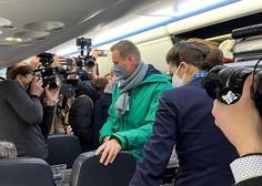 V Rusijo prihajajo pozivi iz EU in ZDA, naj izpustijo Alekseja Navalnega