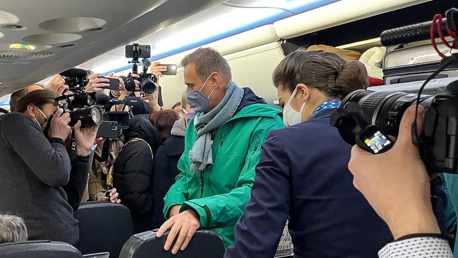 V Rusijo prihajajo pozivi iz EU in ZDA, naj izpustijo Alekseja Navalnega (foto: profimedia)