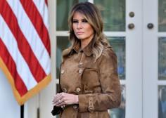 Melania Trump odhaja iz Bele hiše z rekordno nizko podporo med Američani