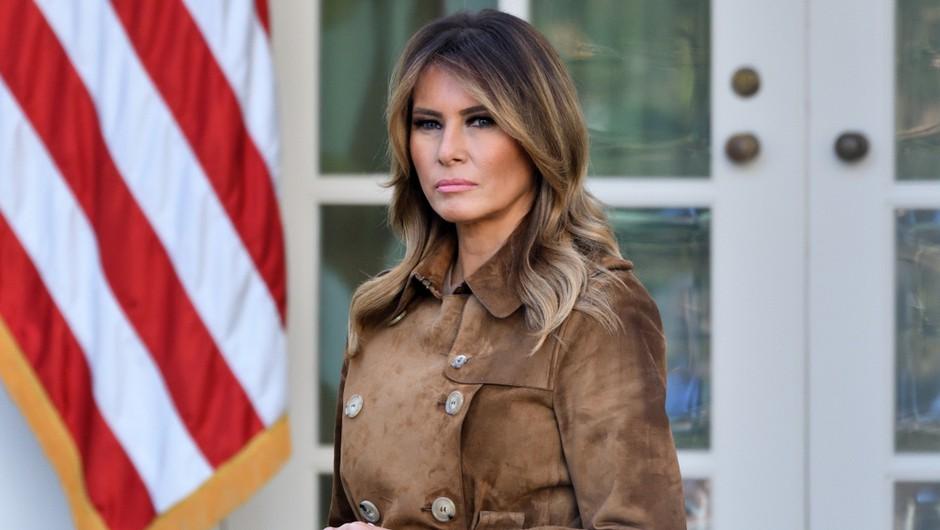 Melania Trump odhaja iz Bele hiše z rekordno nizko podporo med Američani (foto: Shutterstock)