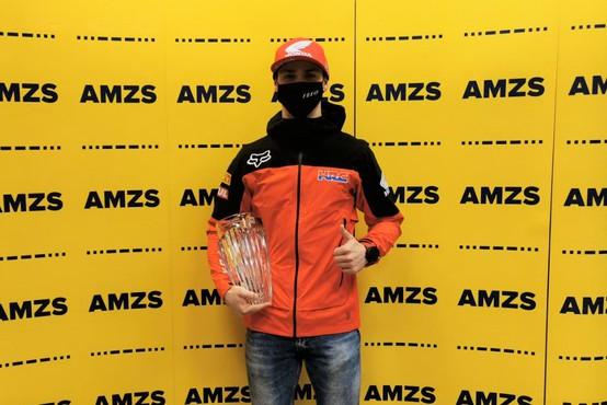 Motošportnik leta šestič zapored postal Tim Gajser