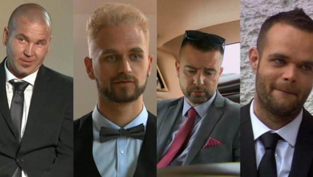 Ugodno oddam sina: To so dekleta, ki so jih na koncu izbrali Adnan, Igor, Elvis in Marko (foto: Nova TV)