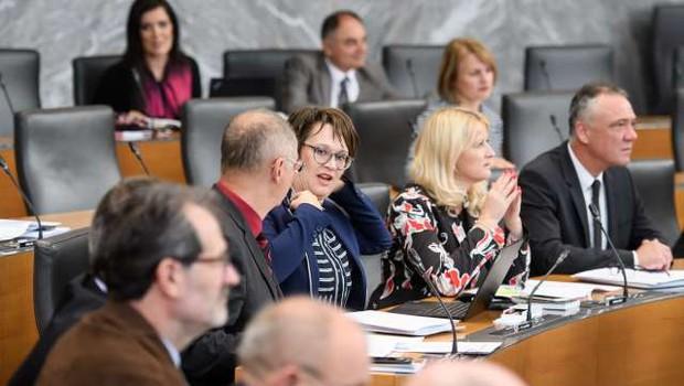 Vsi poslanci, ki so bili v stiku z okuženim direktorjem Sove, negativni na testu (foto: Nebojša Tejić/STA)