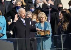 Joe Biden prisegel kot 46. predsednik ZDA