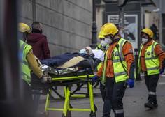 V Madridu v eksploziji uničena večnadstropna stavba