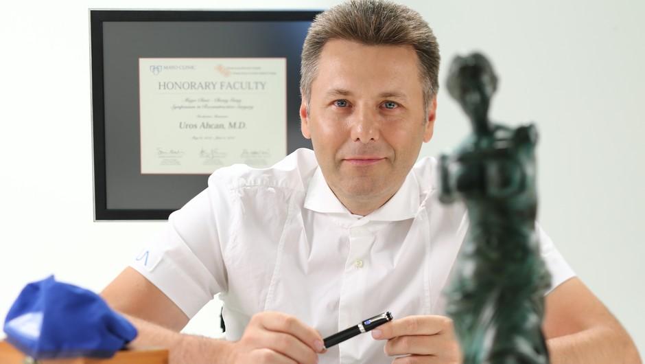 Dr. Uroš Ahčan: Kaj imata skupnega Balkanec, ki si želi na Mars, in cepljenje proti covidu (foto: Aljoša Rebolj)